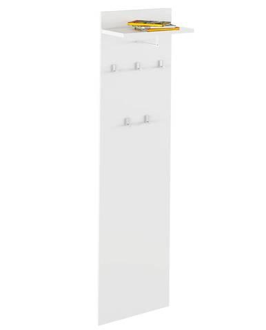Vešiakový panel biela RIOMA TYP 19