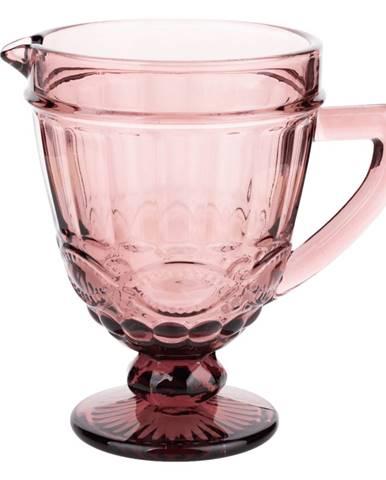 Vintage džbán na vodu/na víno 1150ml červená SAVOY