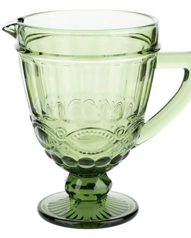 Vintage džbán na vodu/na víno 1150ml zelená SAVOY
