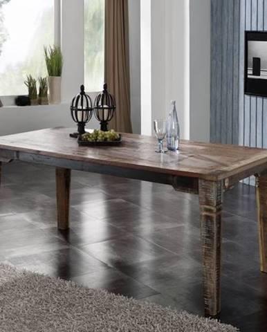 OLDTIME Jedálenský stôl Classic 220x90 cm, staré drevo
