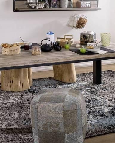 TIROL Jedálenský stôl 200x100 cm, svetlohnedá, dub