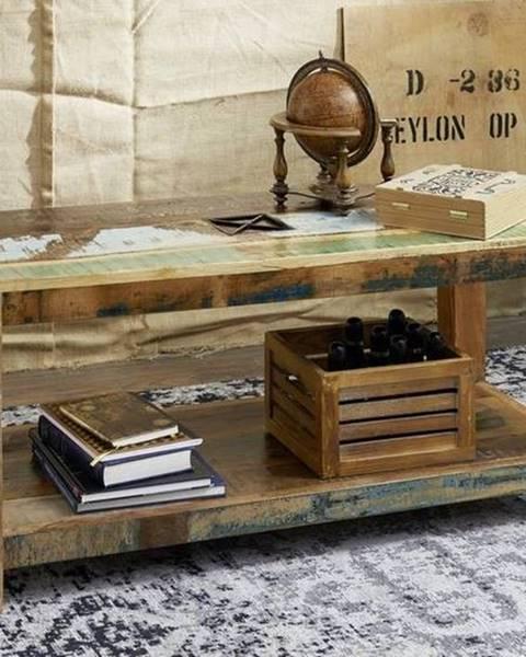 Bighome.sk OLDTIME Konferenčný stolík 110x50 cm, staré drevo