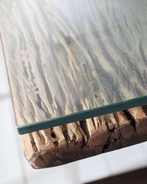 Bighome.sk Sklo na jedálenský stôl BARAKUDA 240x100 cm