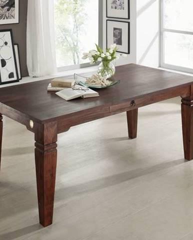 CAMBRIDGE Jedálenský stôl s 1 šuplíkom 200x100 cm, akácia