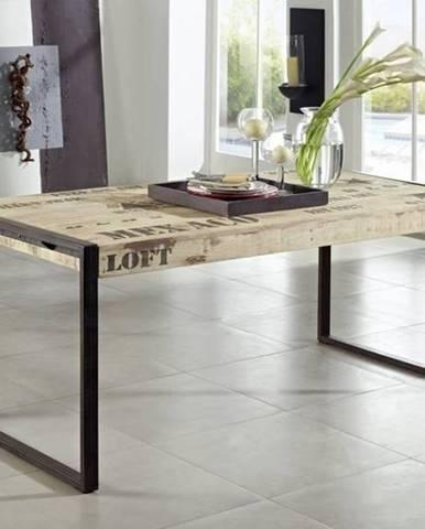 FABRICA Jedálenský stôl 140x90 cm, mango