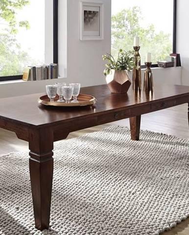 SUNO CAMBRIDGE Jedálenský stôl 220x100 cm, akácia