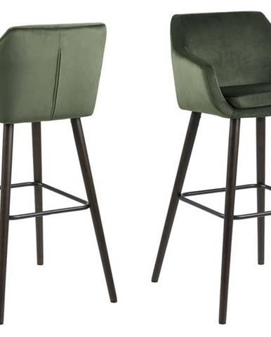 Barová stolička NORA, zelená