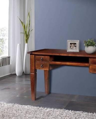 CAMBRIDGE Písací stôl 130x60 cm, akácia
