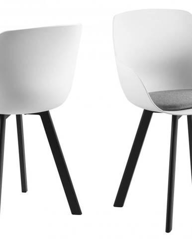Jedálenská stolička TINA, svetlosivá