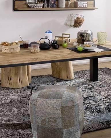 TIROL Jedálenský stôl 260x100 cm, prírodná, dub