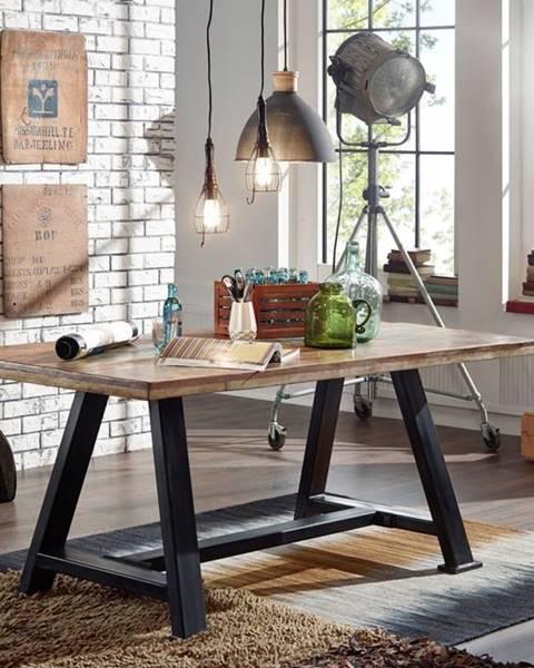 Bighome.sk INDUSTRY Jedálenský stôl 160x90 cm, staré drevo