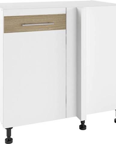 Kuchynská skrinka Luna Lignum Bianco Super Mat PNPO 105