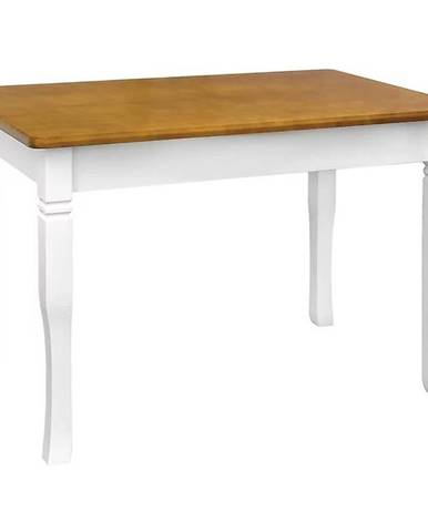 Jedálenský stôl Mars biely+ dub 110 x 70