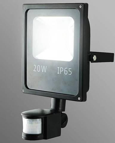 LED reflektor 20W s pohybovám senzorom teplá EK850