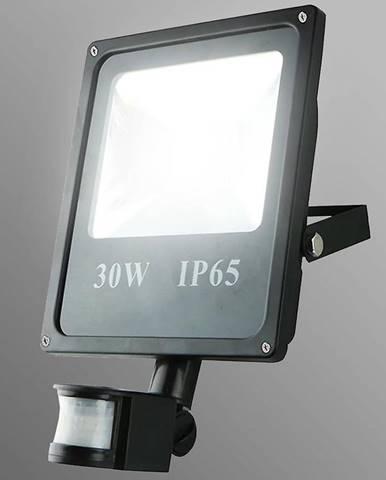 Reflektor LED 30W s pohybovám senzorom studená EK983