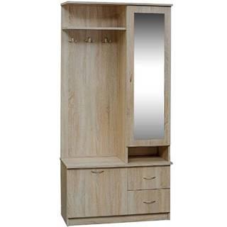 Predsieňový nábytok Martyna dub sonoma