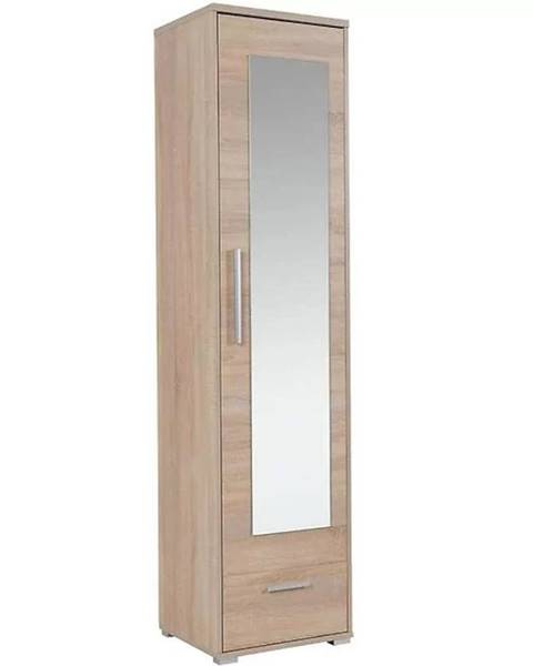 MERKURY MARKET Vysoká skrinka s zrkadlom Hit H01 48 cm