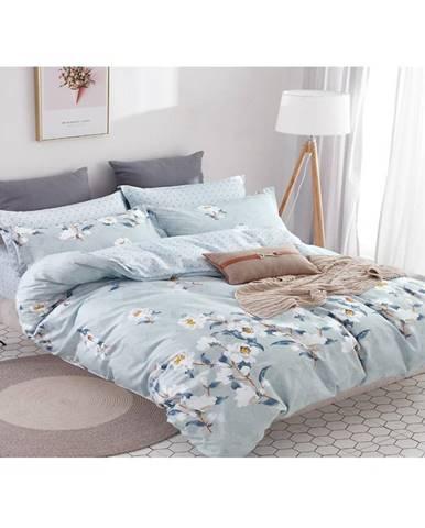 Bavlnená saténová posteľná bielizeň albs-01042b/2 140x200 lasher