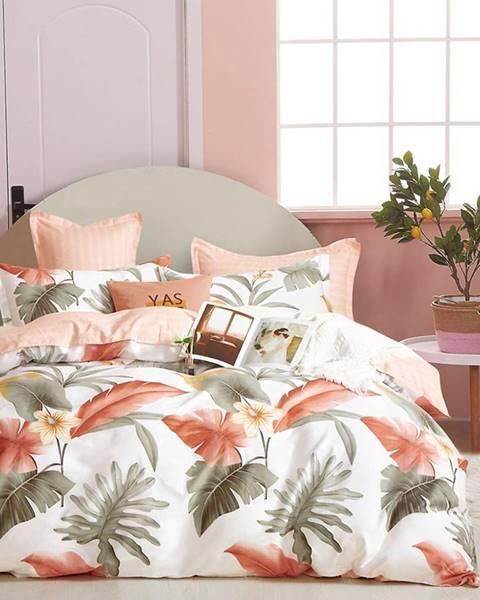 MERKURY MARKET Bavlnená saténová posteľná bielizeň ALBS-01230B 140X200