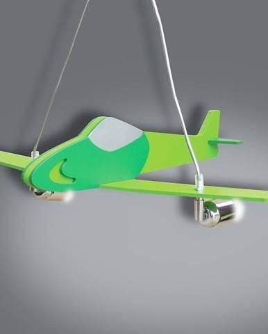Lampa lietadlo zelená L2-30 LW2
