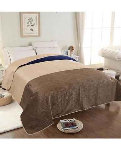 Prikrývka na posteľ Velvet 05 160x200