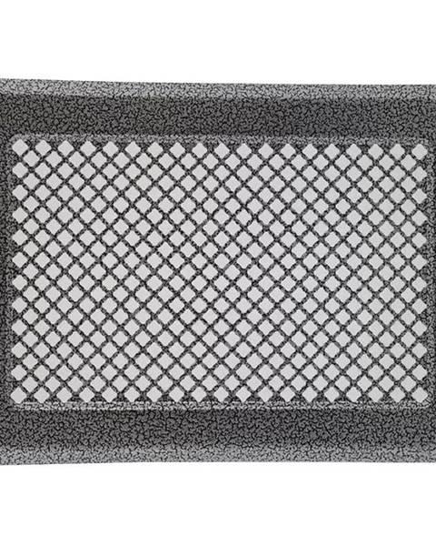 MERKURY MARKET Vetracia mriežka  K3-Ml-Asr strieborný rám 175x245