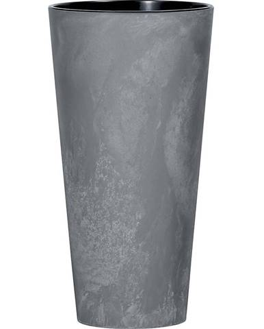 Kvetináč Tubus Slim Effect marengo DTUS250E-425U