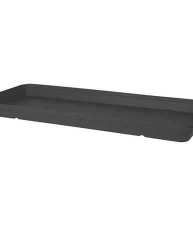 Kvetináč CAPRI XL rectangular 80 cm anthracite