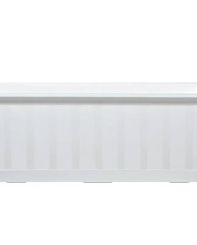 Kvetinač balkónový Agro IS400 S449 biely