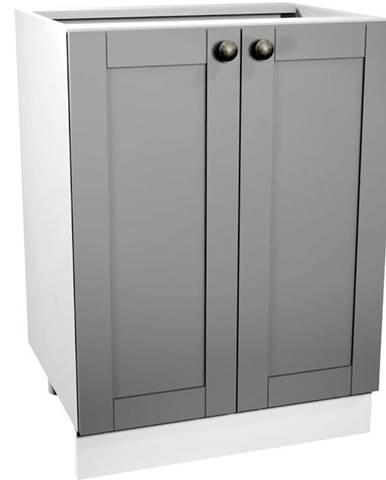 Skrinka do kuchyne Linea D60 grey