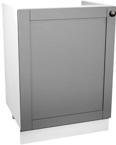 Skrinka do kuchyne Linea D60Z-P grey