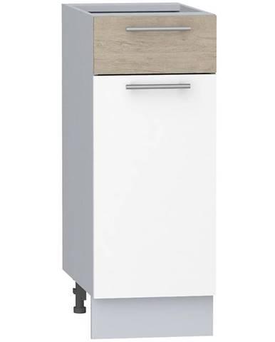 Skrinka do kuchyne Mia Picard/Biały D30 S/1 L