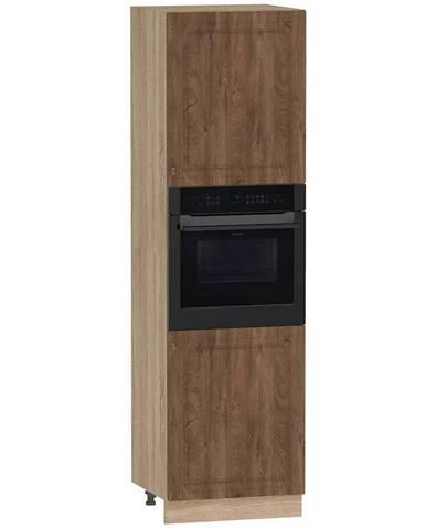 Skrinka do kuchyne Dagna dub taiga tmavý/DS D60 PK P/L/2133