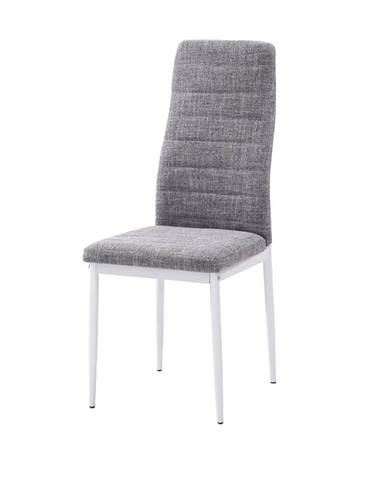 Coleta Nova jedálenská stolička svetlosivá