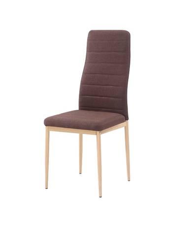 Coleta Nova jedálenská stolička tmavohnedá