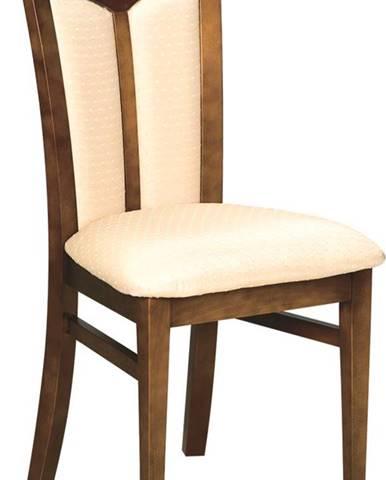 Krzeslo W-04 rustikálna jedálenská stolička nový orech