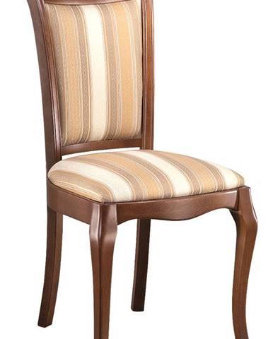 Prato PR-09 rustikálna jedálenská stolička višňa 02
