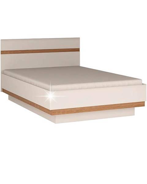 Tempo Kondela Lynatet 91 140 manželská posteľ biela