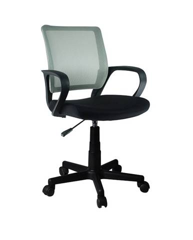 Adra kancelárska stolička s podrúčkami sivá