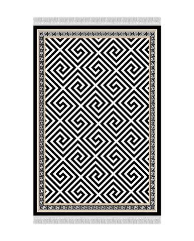 Motive koberec 160x230 cm čierna