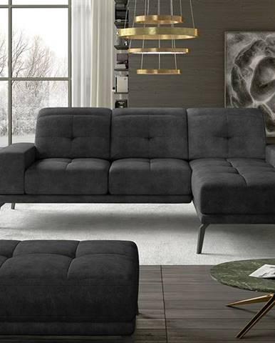 Tirreno P rohová sedačka čierna (Dora 96)