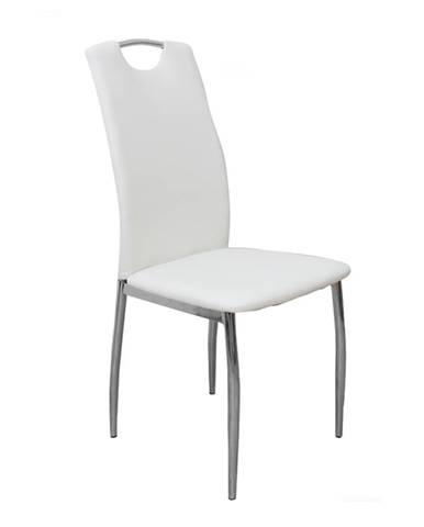 Ervina jedálenská stolička biela