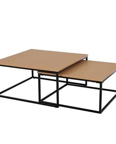 Kastler konferenčný stolík (2 ks) buk