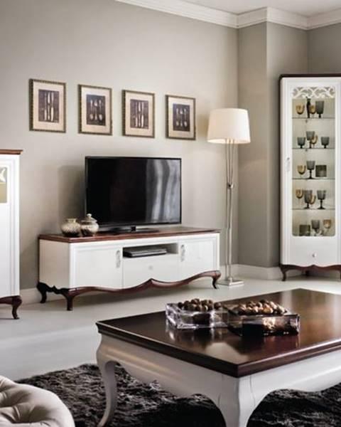TARANKO Milano rustikálna obývacia izba biela