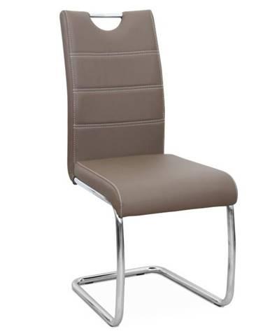Abira New jedálenská stolička hnedá