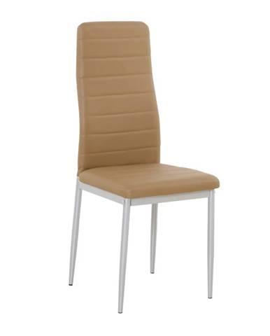 Coleta Nova jedálenská stolička karamelová