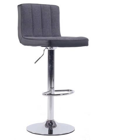 Hilda barová stolička sivá