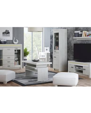 Infinity obývacia izba jaseň biely