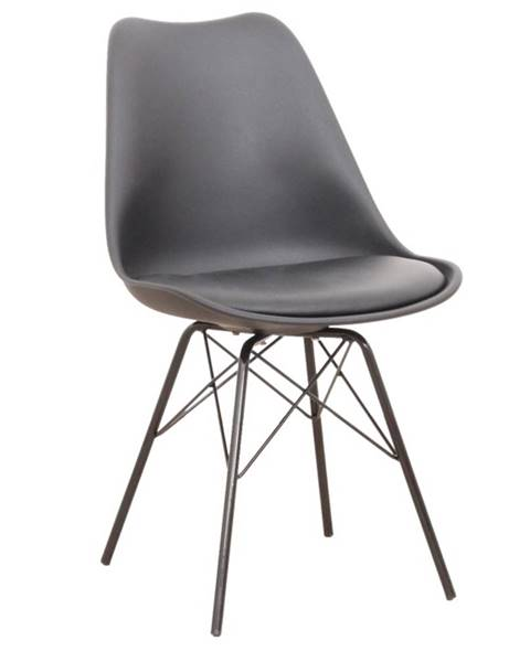 Tempo Kondela Tamora jedálenská stolička čierna