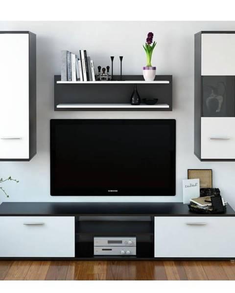 Kondela Waw New obývacia stena čierna